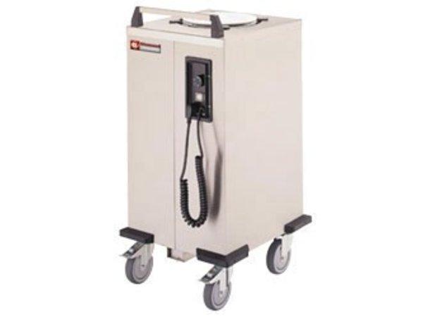 Diamond Plate warmer / dishes Dispenser - 55/60 plates - Ø 26cm - 435x470x (H) 910mm
