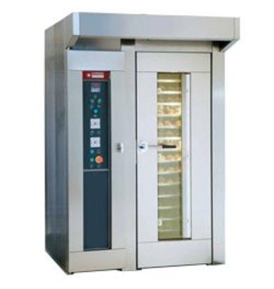 Diamond Bakkerij Oven - Wagenoven - 15/18 niveau's - 400v - 152x121x(h)224cm