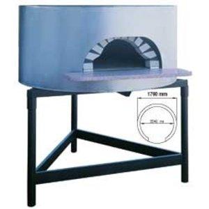 Diamond Holzofenpizza - 1540mm - 12.10 Pizzen Ø 300 mm - Ø 1790x (h) 1050mm