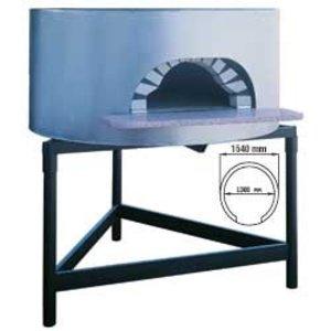 Diamond Holzofenpizza - 1300mm - 6/7 Pizzen Ø 300 mm - Ø 1540x (h) 1050mm