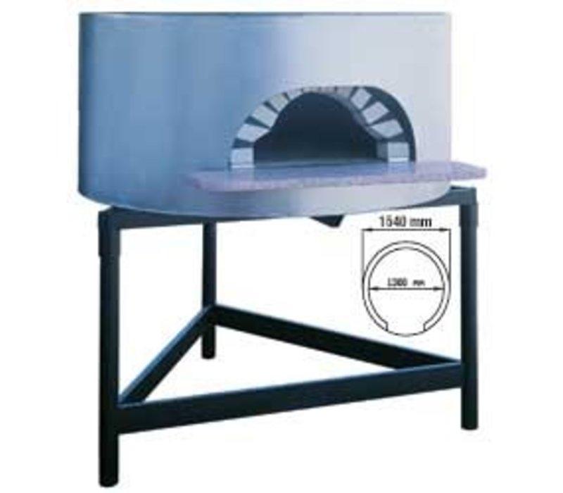 Diamond Wood oven pizza - 1300mm - 6/7 pizzas Ø 300mm - Ø 1540x (h) 1050mm