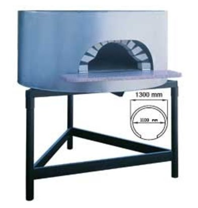Diamond Pizza Houtoven - 1100mm - 4/5 pizzas Ø 300mm - Ø 1300x(h)1050mm