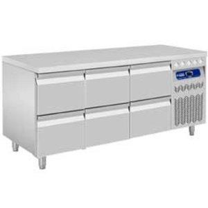 Diamond Cool Workbench - 6 drawers - 175,5x70x (h) 85 / 90cm - European