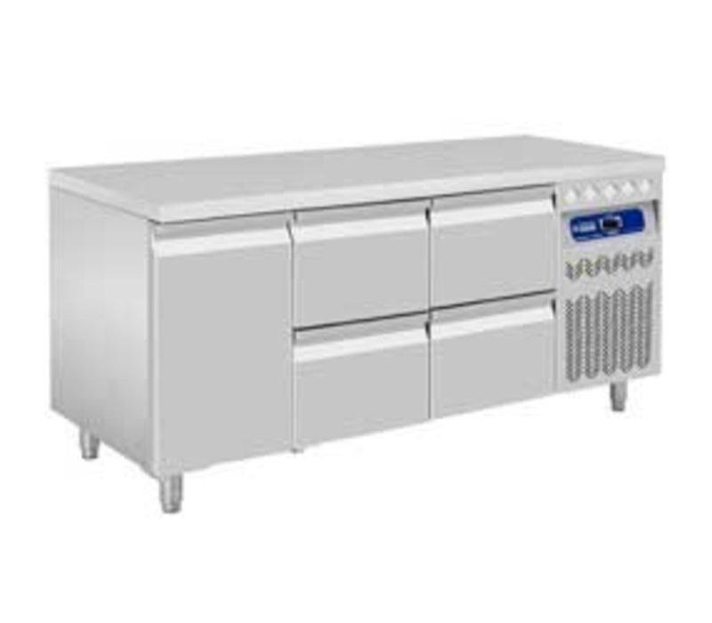 Diamond Cool Workbench - 2 drawers + 1 door - 175,5x70x (h) 85 / 90cm - European