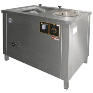 Diamond Groentewasser / Centrifuge - 100 Liter - RVS - 1000x700x(h)800mm