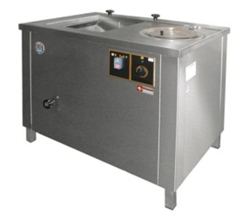Diamond Groentewasser / Centrifuge - 100 Liter - RVS - 1000x700x(h)800mm