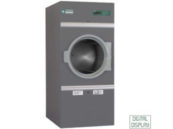 Diamond Hotel Dryer 14kg stainless steel - 30 programs - 400v - 791x707x (h) 1760mm