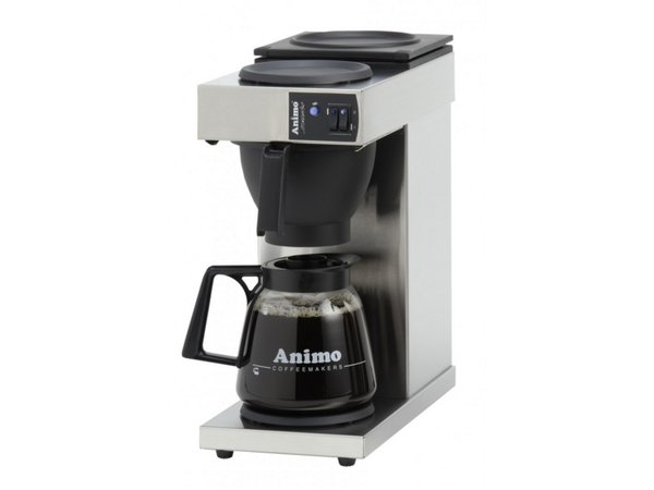 Animo Koffiezetapparaat Animo   10380   Excelso   Inc Glazen Kan 1,8 Liter   2250W   190x370x(h)580mm