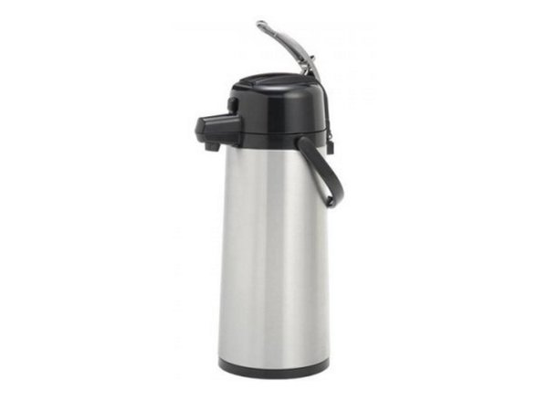 Animo Pump Thermos Stainless Animo | 10420 | 2.1 Liter | Within glass bottle