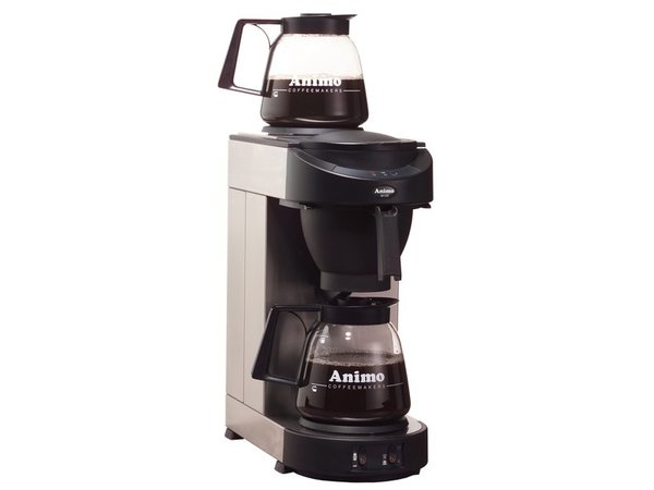 Animo Koffiezetapparaat Animo | 10502 | M100 | Inc 2 x Glazen Kan 1,8 Liter | 2250W | 205x380x(h)625mm