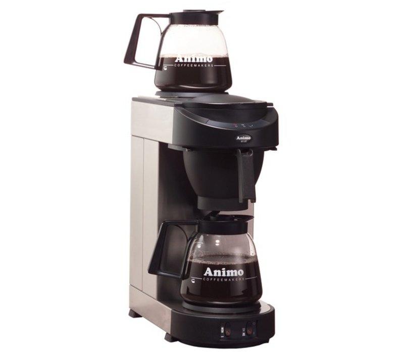 Animo Animo coffee   10502   M100   Inc. 2 x Glasses Can 1.8 Liter   2250W   205x380x (H) 625mm