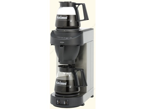 Animo Animo coffee Solid Water   10552   M200   Inc. 2 x Glasses Can 1.8 Liter   2250W
