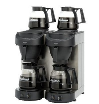 Animo Double Coffee Animo   10512   M102   Inc. 4 x Glasses Can 1.8 Liter   3500W   420x380x (H) 625mm