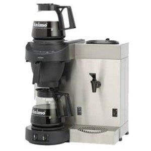 Animo Duo Koffiezetapparaat en Heewaterdispenser Animo Vaste Wateraansluiting   10557   M200W