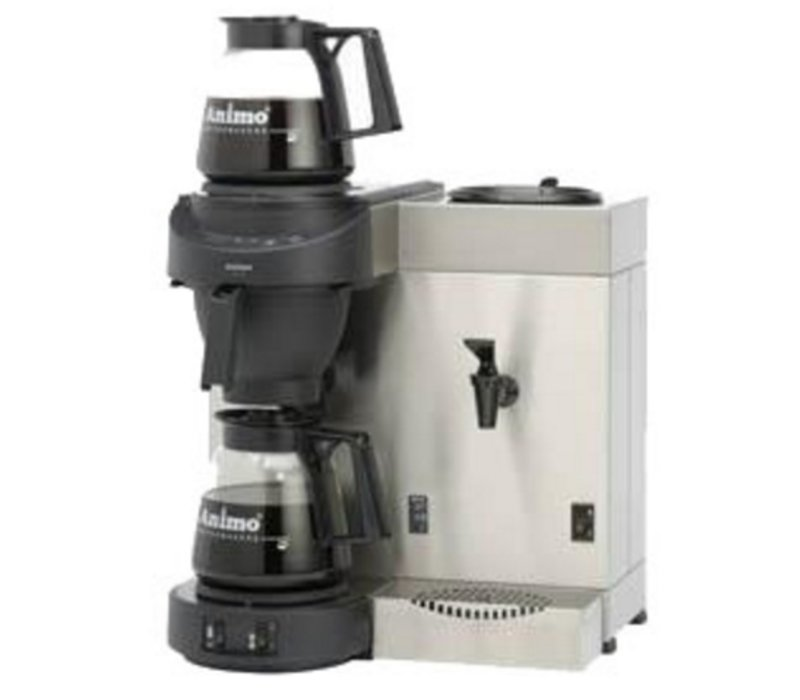 Animo Duo Kaffee und Heewaterdispenser Animo Solide Wasser   10557   M200W