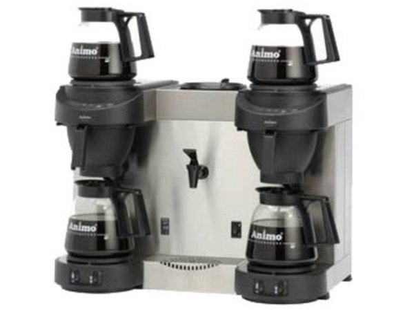 Animo Trio | Double Coffee and Heewaterdispenser Animo Solid Water | 10567 | M202W