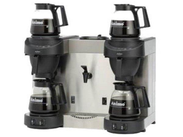 Animo Trio | Double Coffee und Heewaterdispenser Animo Solide Wasser | 10567 | M202W