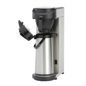 Animo Koffiezetapparaat RVS Animo Vaste Wateraansluiting | 10572 | MT200 |Exc Thermoskan 2,1 Liter | 2100W