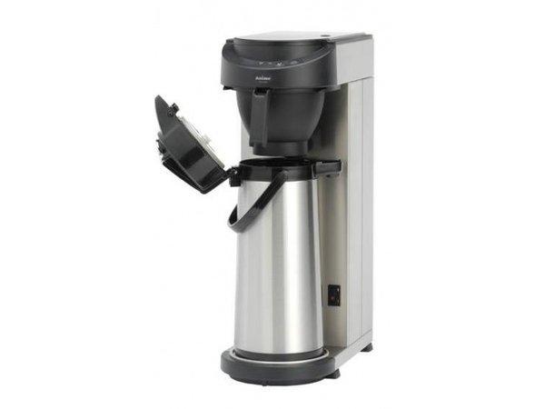 Animo Massiv Edelstahl Kaffeemaschine Animo Wasser | 10572 | MT200 | Exc Thermos 2,1 Liter | 2100W