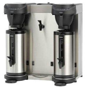 Animo Trio | Dubbel Koffiezetapparaat en Heewaterdispenser Animo Vaste Wateraansluiting | 10582 | MT202W