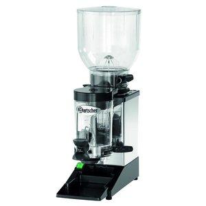 Bartscher Koffiemolen model Space II   RVS Frame   Instelbare Dosering   200x390x(H)600mm