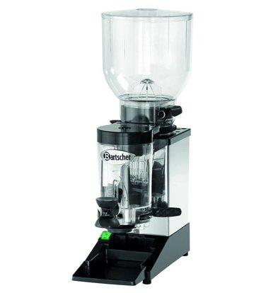 Bartscher Coffee grinder model Space II | Stainless Steel Frame | Adjustable Dosage | 200x390x (H) 600mm