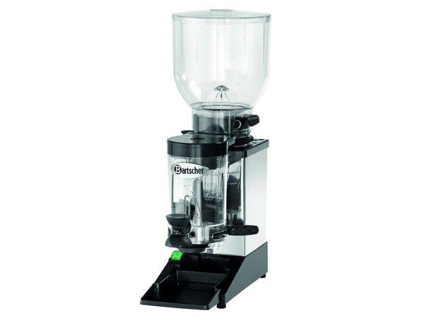Bartscher Kaffeemühle Modell Space II | Gestell aus Edelstahl | Einstellbare Dosierung | 200x390x (H) 600mm