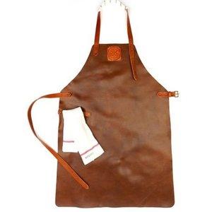 Witloft Leather Apron Witloft   Regular apron Cognac / Brandy   WL-ARU-06   Unisex   Large 85 (L) x60 (b) cm