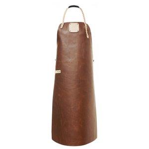 Witloft Leren Schort Witloft | Apron Regular Cognac / Nude | WL-ARU-07 | Unisex | Large 85(L)x60(b)cm