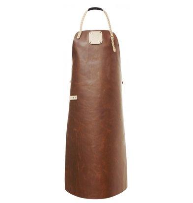 Witloft Leder Schürze Witloft | Regelmäßige Schürze Cognac / Nude | WL-ARU-07 | Unisex | Große 85 (L) x60 (b) cm