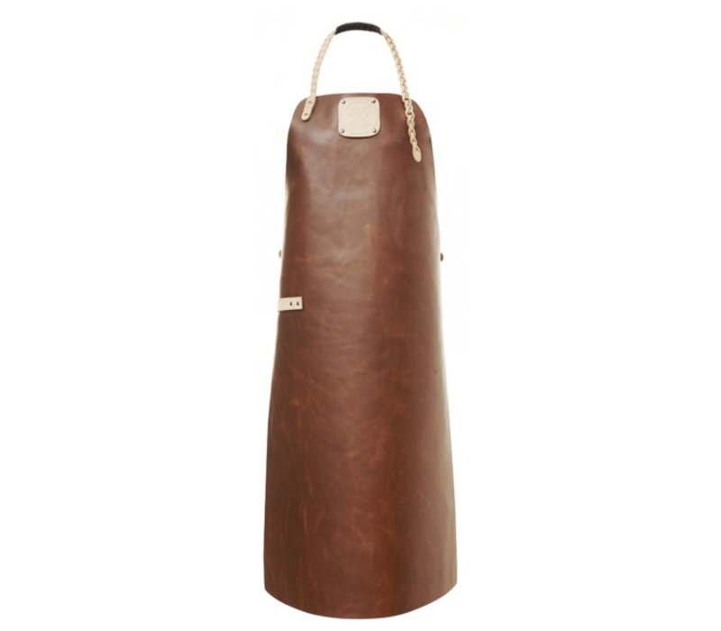 Witloft Leather Apron Witloft | Regular apron Cognac / Nude | WL-ARU-07 | Unisex | Large 85 (L) x60 (b) cm