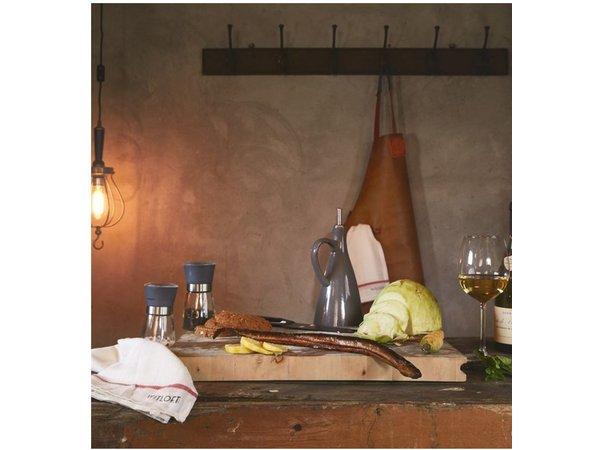 Witloft Leder Schürze Witloft   Schürze Regular Black / Cognac   WL-ARB-01   Männlich   Xlarge 100 (L) x75 (b) cm