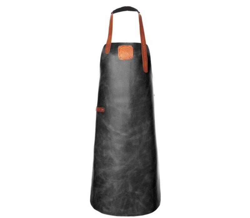 Witloft Leren Schort Witloft   Apron Regular Black / Cognac   WL-ARB-01   Male   XLarge 100(L)x75(b)cm