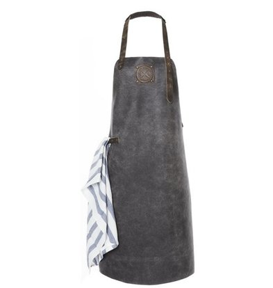 Witloft Leren Schort Witloft | Apron Regular Black / Black | WL-ARB-05 | Male | XLarge 100(L)x75(b)cm