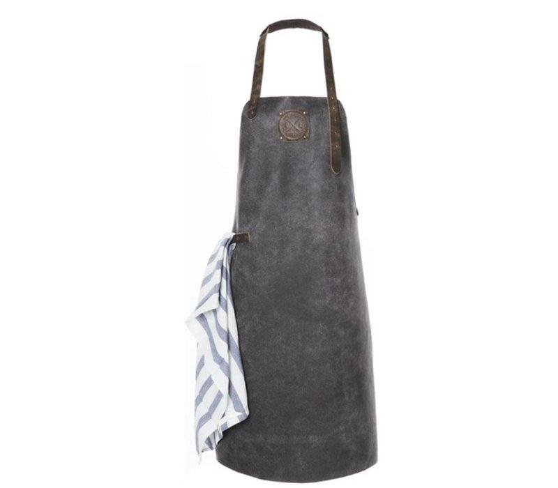 Witloft Leather Apron Witloft   Apron Regular Black / Black   WL-ARB-05   Male   XLarge 100 (L) x75 (b) cm