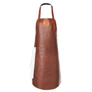 Witloft Leather Apron Witloft | Regular apron Cognac / Brandy | WL-ARB-06 | Male | XLarge 100 (L) x75 (b) cm