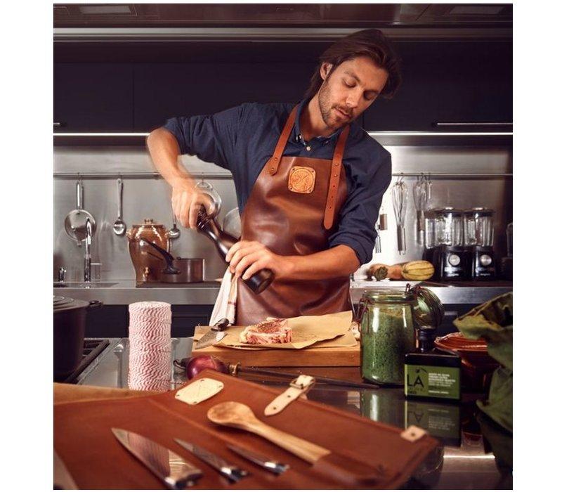 Witloft Leather Apron Witloft | Regular apron Cognac / Brandy | WL-ARB-06 | Male | XLarge 100 (L) x75 (b) cm