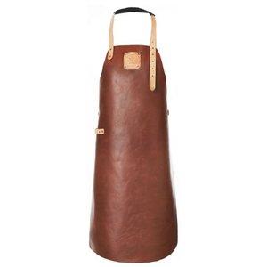 Witloft Leather Apron Witloft | Regular apron Cognac / Nude | WL-ARB-07 | Male | XLarge 100 (L) x75 (b) cm