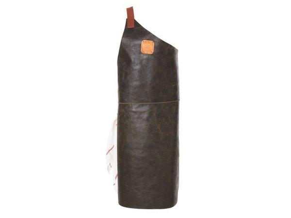 Witloft Leather Apron Witloft   Apron Butcher Black / Cognac   WL-ABR-01   Male   Large 85 (L) x60 (b) cm