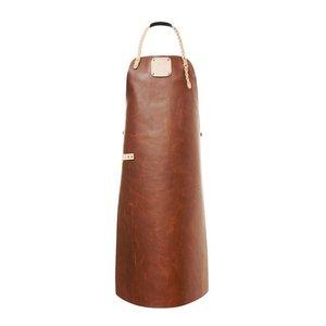 Witloft Leren Schort Witloft | Apron Regular Cognac / Nude | WL-ARW-07 | Woman | Medium 85(L)x60(b)cm