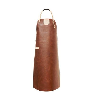 Witloft Leather Apron Witloft | Regular apron Cognac / Nude | WL-ARW-07 | Woman | Medium 85 (L) x60 (b) cm
