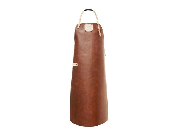 Witloft Leder Schürze Witloft | Regelmäßige Schürze Cognac / Nude | WL-ARW-07 | Frau | Medium 85 (L) x60 (b) cm