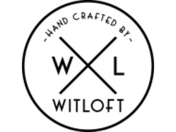 Witloft Leder Schürze Witloft | Lange Schürze Cognac / Brandy | WL-LAM 06 | Männlich | 60 (L) x55 (W) cm