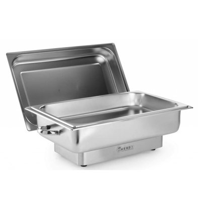 Hendi Chafing Dish Electric | Pollina | 1/1 GN | unendlich | 615x355x (H) 284mm