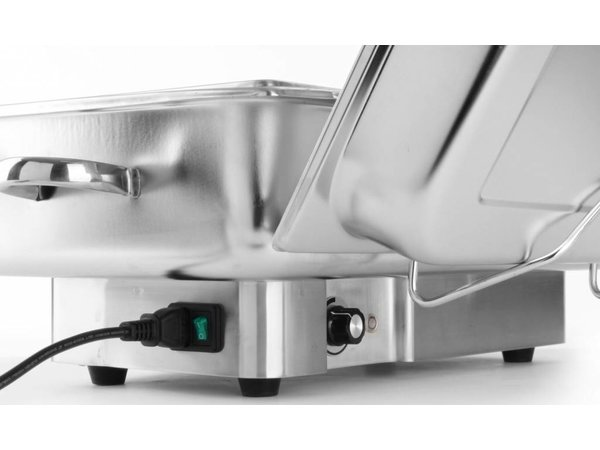 Hendi Chafing Dish Electric   Pollina   1/1 GN   infinitely   615x355x (H) 284mm
