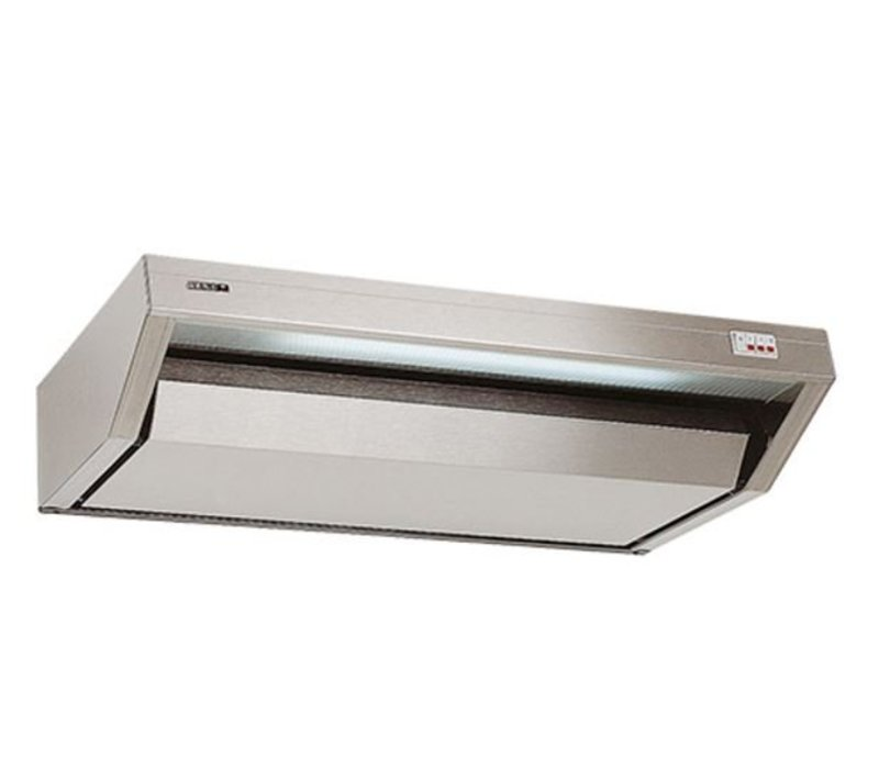 XXLselect Horeca Hood with built-in Dual Engine | Lights and 3 positions | 100x52x (h) 17cm | 700m5
