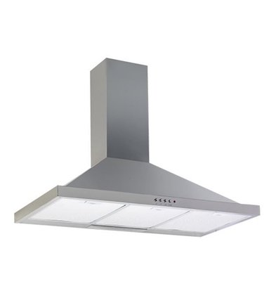 XXLselect Hood with integrated Motor | Lights and 3 positions | 90 cm | 650m3 | 3 Filters