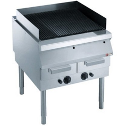 Diamond Gas grill | Cast iron grille | with Mount | 800x900x (h) 850 / 920mm