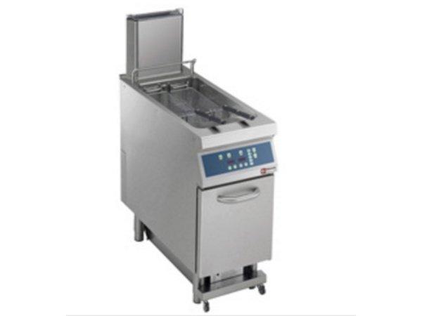 Diamond fryer | gas | 23 Liter | 25kW | on Cabinet Digital | Automatic Oil Purification | 400x900x (h) 850 / 1200mm