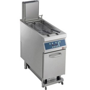 Diamond Fritteuse | Gas | 23 Liter | 25kW | auf Kabinett Digital | Basic-Version | 400x900x (h) 850 / 1200mm
